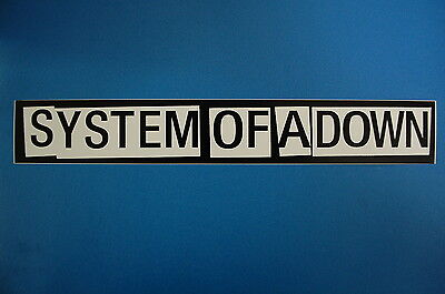 System Of A Down Sticker (S58)