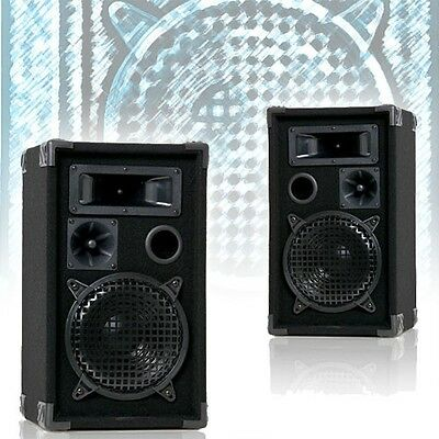 600 Watt Paar DJ PA Bass Lautsprecher Boxen Party Lautsprecher Box DJ Equipment