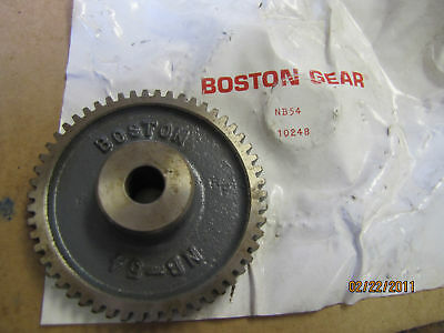 New Boston Gear Nb54 Spur Gear 10248 54 Teeth Nb-54