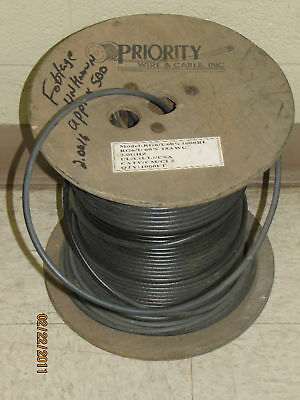 Priority Rg6/u60%1000Rl 18Awg Coaxial Cable Approx 500'