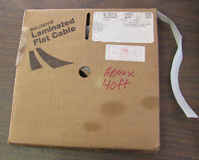 Belden Flat Cable 16 Pin Conductor AWG 28 Approx 40'