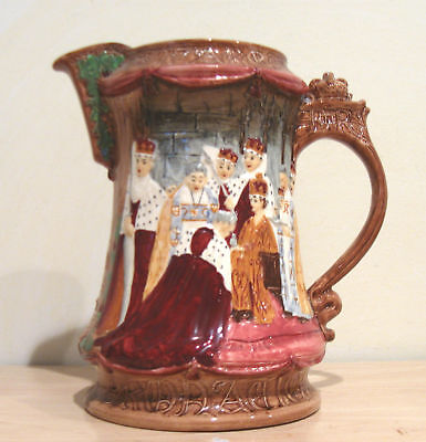 Burgess & Leigh Queen Elizabeth ll Coronation Pitcher