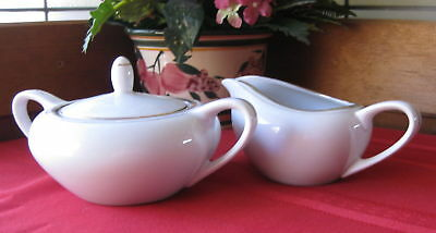 "Royalton China ""Golden Elegance"" Sugar Bowl & Creamer"