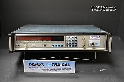 EIP Model 545A Microwave Frequency Counter w/ opt. 08