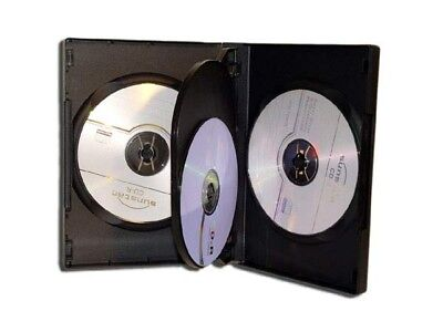 10 x 4fach dvd h lle aufbewahrung f r cd h llen f r cds. Black Bedroom Furniture Sets. Home Design Ideas