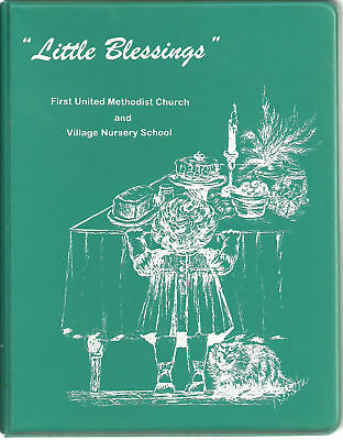 *WEST LAFAYETTE IN 1995 *LITTLE BLESSINGS COOK BOOK *FIRST METHODIST CHURCH