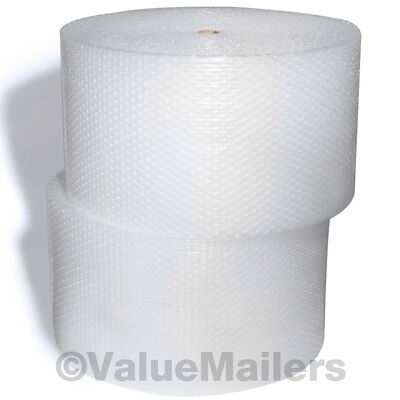 Large Bubble Roll 1/2 x 62.5 ft x 24 Inch Bubble Large Bubbles Perforated Wrap