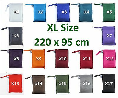 EXTRA LARGE TREKSILK Single Silk Liner Bag Sleeping Hostel Sheet 220x95cm
