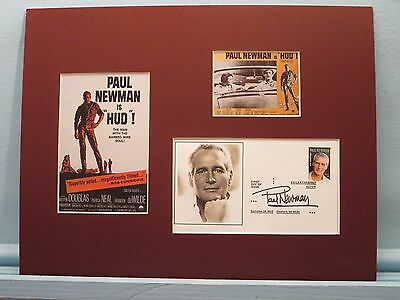 Oscar Winner Patricia Neal In Hud First Day Cover Of The Paul Newman