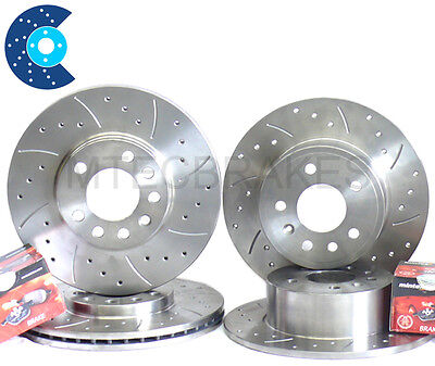 Ibiza Cupra 1.8 T Front Rear Grooved Brake Discs & Pads