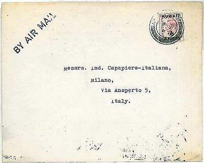 POSTAL HISTORY - COVER: KUWAIT to ITALY