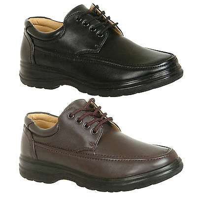 Mens Black / Brown Casual Shoes Size 6 7 8 9 10 11 12