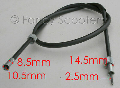 """Peace Sports 50CC Scooter TPGS-805/810/811/824 Speedometer cables 39"""" LONG"""