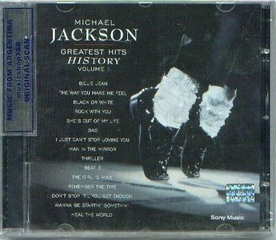 Michael Jackson Greatest Hits History 1 Sealed Cd New