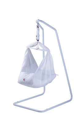 New mamakiddies Baby Hammock Cot Bassinet Cotton with Stand & Mattress