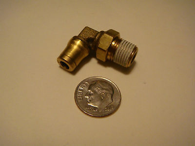 "Brass Push To Connect Fitting 1/8"" NPT 5/32"" Tube NEW"