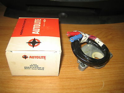 NOS Autolite 1964-1967 Ford Mustang Falcon Mercury Comet Neutral Safety Switch