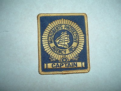 PATCH SECURITY McROBERTS PROTECTIVE AGENCY INC CAPTAIN