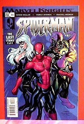 MARVEL KNIGHTS COMIC SPIDER-MAN # 11 Apr 2005 Green Goblin Black Cat Last Stand