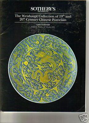 V RARE SOTHEBY'S Weishaupt Collection Chinese Porcelain