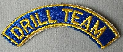 U.S. Armed Forces Patch Tab  DRILL TEAM