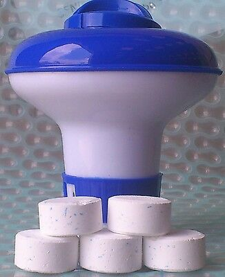 Small Dispenser with 20 Ultimate Chlorine Tablets 20g