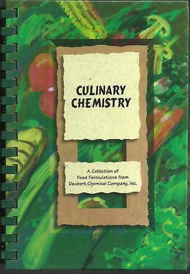 *CHICAGO IL 1998 CULINARY CHEMISTRY COOK BOOK *DAUBERT CHEMICAL CO EMPLOYEES