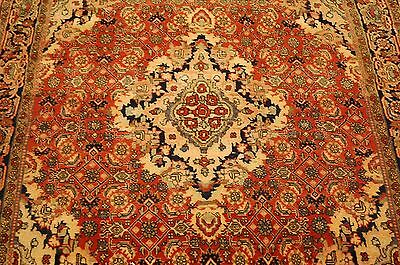 c1920s ANTIQUE VERY FINE PERSIAN BIJAR RUG 4x5 CLASSIC VILLAGE WOVEN BEAUTY