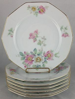 Tirschenreuth china THE WILD ROSE salad plate