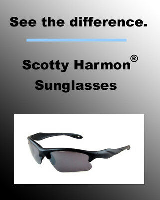 Scotty Harmon® 20-20 Sunglasses BLACK Men's (#67391)