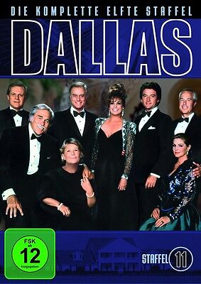 "3 DVD Box Dallas "" Staffel 11 - Larry Hagman  NEU OVP"