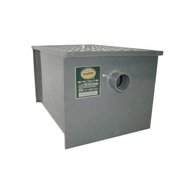 Commerical Grade Kitchen Carbon Steel Grease Trap 20 lb