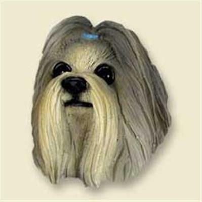 Shih Tzu Show Cut Mixed Colors Face Magnet Free Items a4u