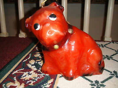 Bulldog Candle-Large-New-Unique Design From Vintage Dog