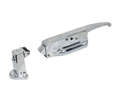 Kason K58 Series Walk-In Safety Latch with Strike Flush Offset Complete K58-CA01