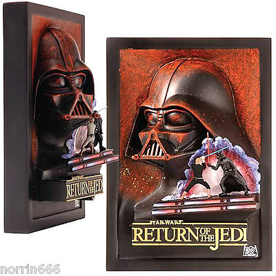 STAR WARS  DARTH VADER RETURN OF THE JEDI cuadro de resina 3D relieve Code 3