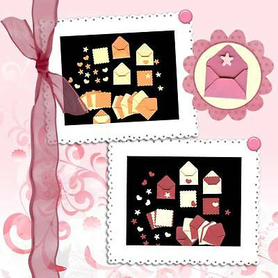Scrapbooking Die Cut Punch Mini Mini Enveloppes E-6369