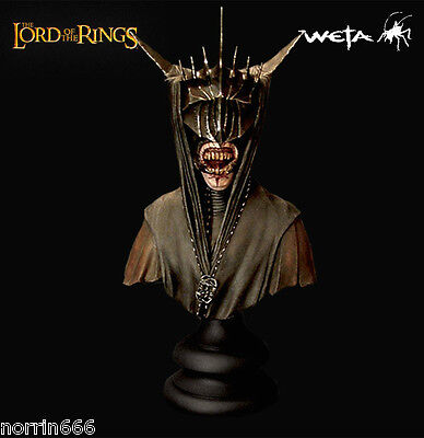 LORD OF THE RINGS MOUTH OF SAURON busto Weta Sideshow