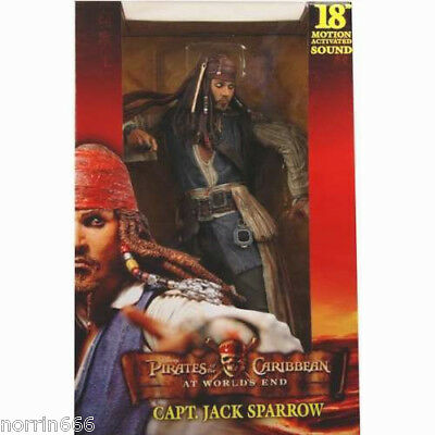 PIRATAS DEL CARIBE JACK `AT WORLD'S END´ 45cm Neca