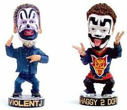 INSANE CLOWN POSSE SHAGGY 2 DOPE & VIOLENT J Neca