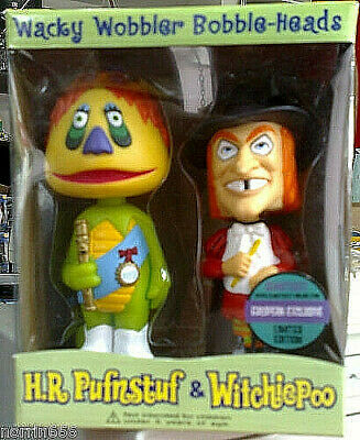PUFNSTUF & WITCHIEPOO set cabezon (2) de 18cm Funko
