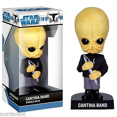 STAR WARS CANTINA BAND cabezon PVC appr 17cm Funko