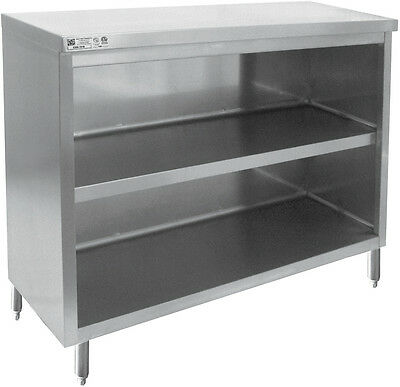 "ACE 18 Gauge 5""x60""x35"" All Stainless Steel Flat Top No Door Cabinet CDN-1560"