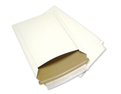 100 7X9 Rigid Photo Mailers Envelopes Stay Flats 7 X 9 W/ Expedited Shipping