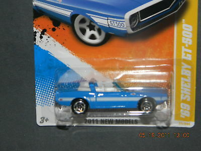 HOT WHEELS 11 NM NEW MODELS #21 69 FORD MUSTANG SHELBY GT500 HOTWHEELS VHTF RARE