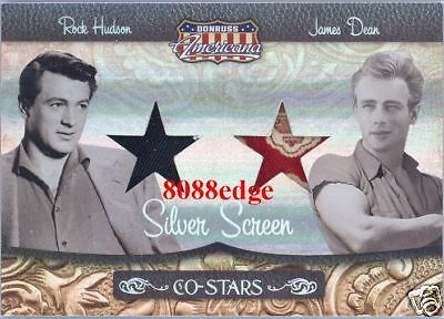 Americana Dual Worn Swatch: James Dean/rock Hudson #2/25