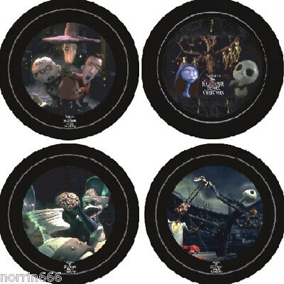 NIGHTMARE BEFORE CHRISTMAS: 4 platos ceramica de Neca