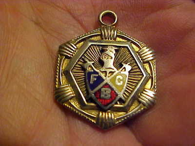 VINTAGE Knights of Ptyhias Pendant