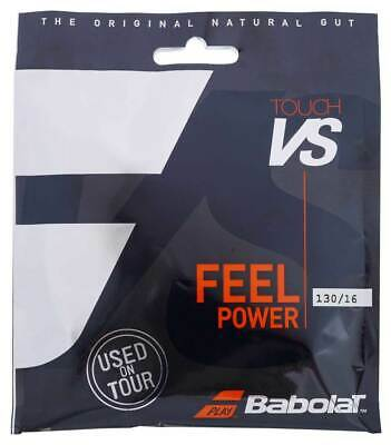 Babolat VS Touch Natural Gut 16 1.30mm Tennis Strings Set