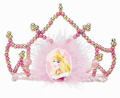 Aurora Tiara, Deluxe Child Disney Tiara, Girls Princess Crown Disguise 18252